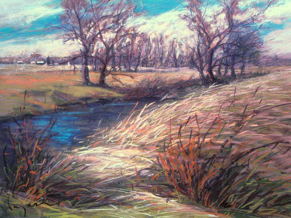 Pastel Landscapes Southampton Virginia by Dorothy Fagan