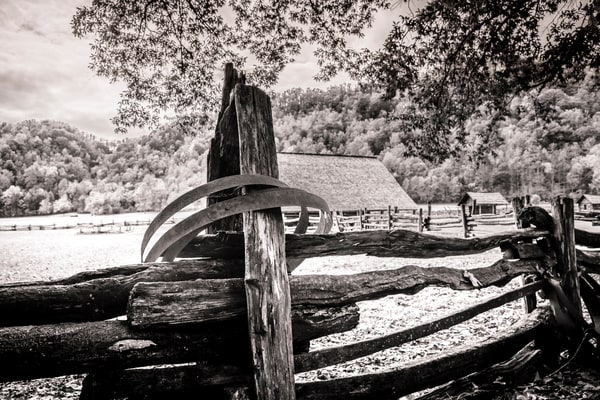 Oconaluftee Visitor Center photography print