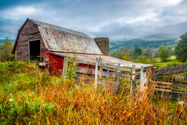 Old Smoky Mountains barn photography