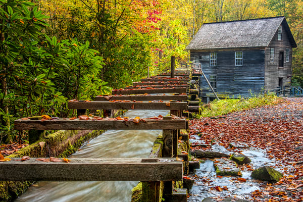 Mingus Mill Smoky Mountains photography