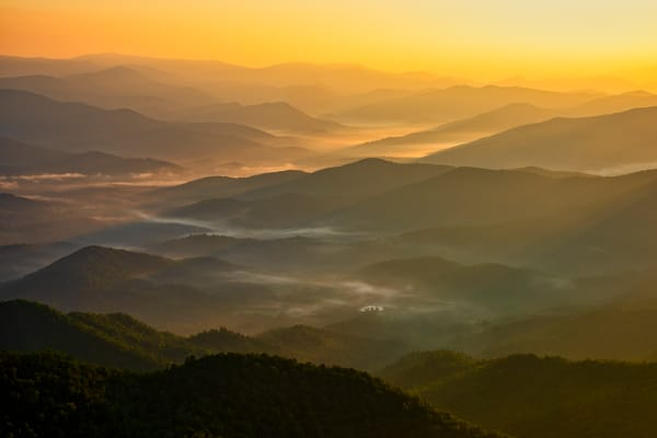 Brasstown Bald sunrise photography