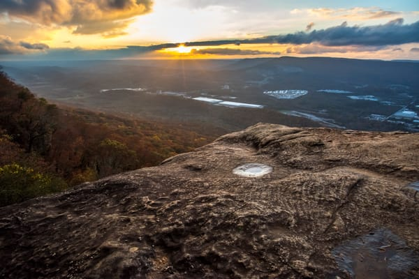 Lookout Mountain Sunset Rock photography