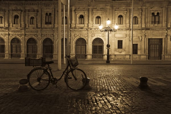 Bicycle in Sevilla