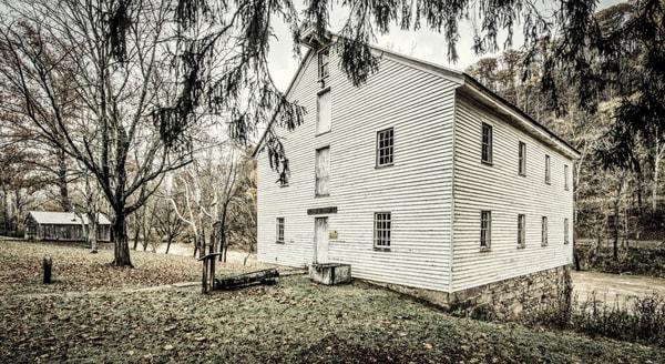 Stonewall Jackson's sawmill photography