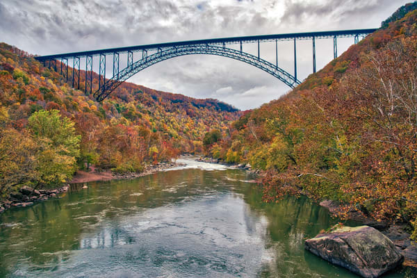 New River Gorge Bridge photography