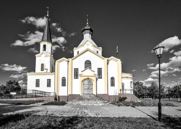 Exaltation of the Holy Cross church Belarus photography