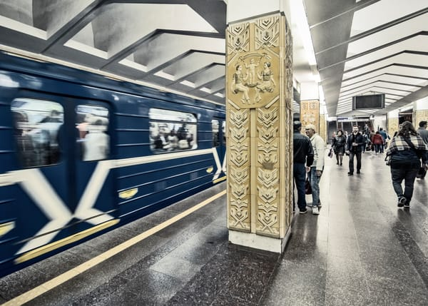 Minsk metro subway photography