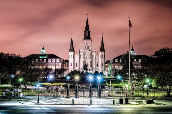 St Louis Cathedral New Orleans photography