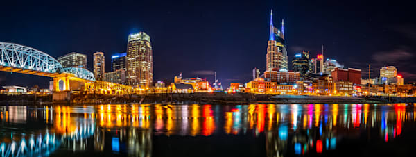Music City Nashville skyline photography