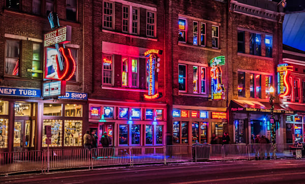 Music City Nashville lights photography