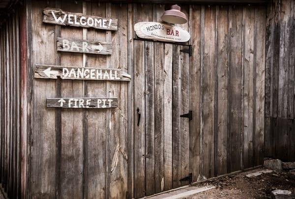 Hondo's Bar Luckenbach Texas