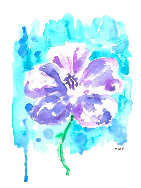 Matt Pierson Artworks | Purple Flower