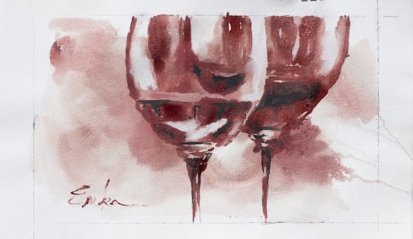 wine glass study 3