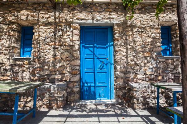 Nerja Blue Door