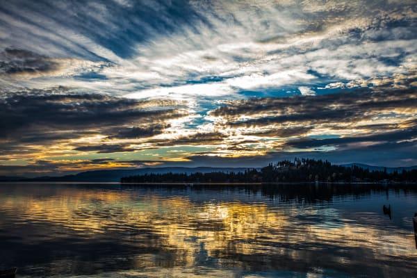 Lake Sunset Horizontal