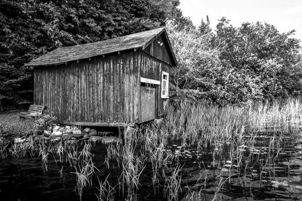 Boat Housebw