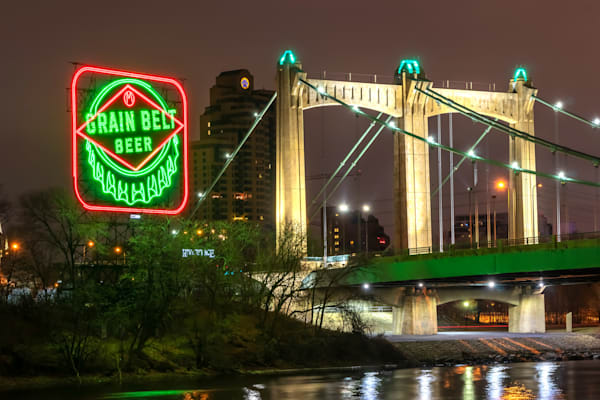 Grain Belt Christmas - Minneapolis Art | William Drew