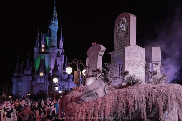 Boo To You Graveyard - Disney Wall Murals | William Drew