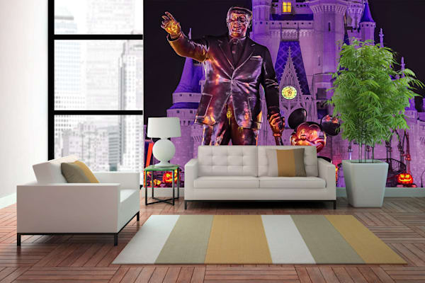 Halloween Partners 2 - Disney Wall Murals | William Drew