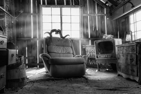 Creepy Tv Room Photography Art | Jarrod Ames Photography