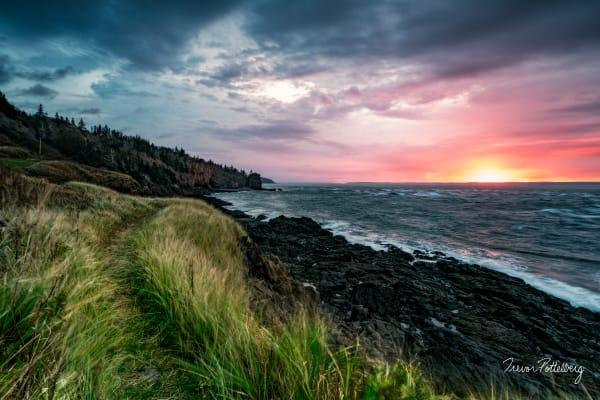 Cape D Or Sunrise Photography Art | Trevor Pottelberg Photography