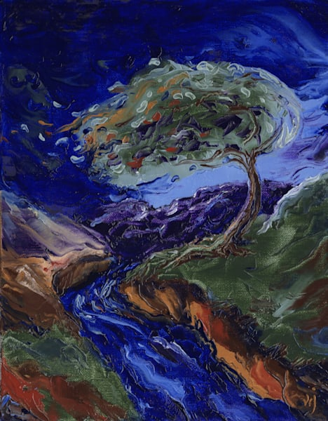 """Tree of Life: High Winds"" by Valerie Jackson 