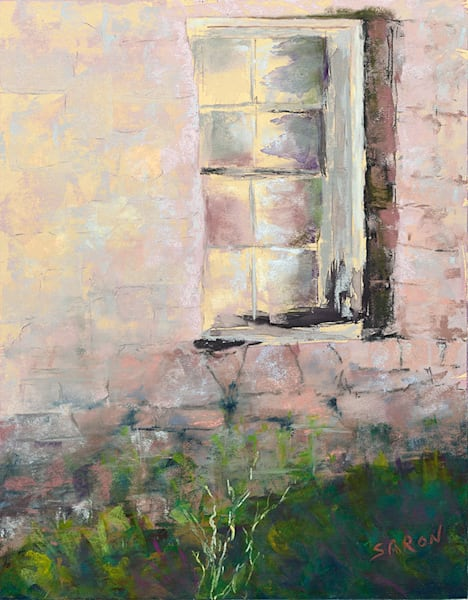 """Window Reflection"" fine art print by Dianne Saron."