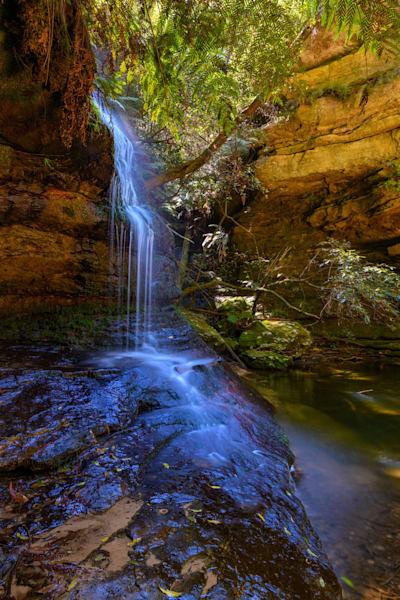 Siloam Falls - The Pool of Siloam Leura Blue Mountains National Park NSW Australia Waterfall