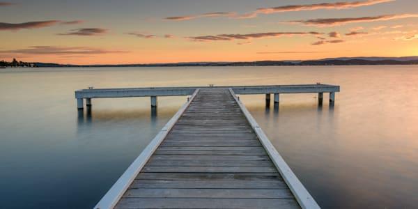 Squid s Ink Sunset - Squid s Ink Jetty Belmont Lake Macquarie NSW Australia