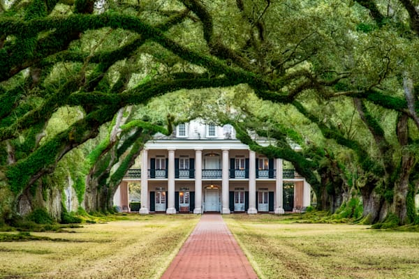 Oak Alley Plantation photography