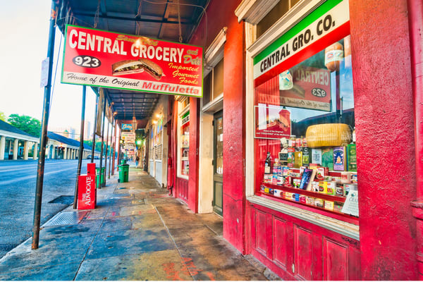 Central Grocery New Orleans photography