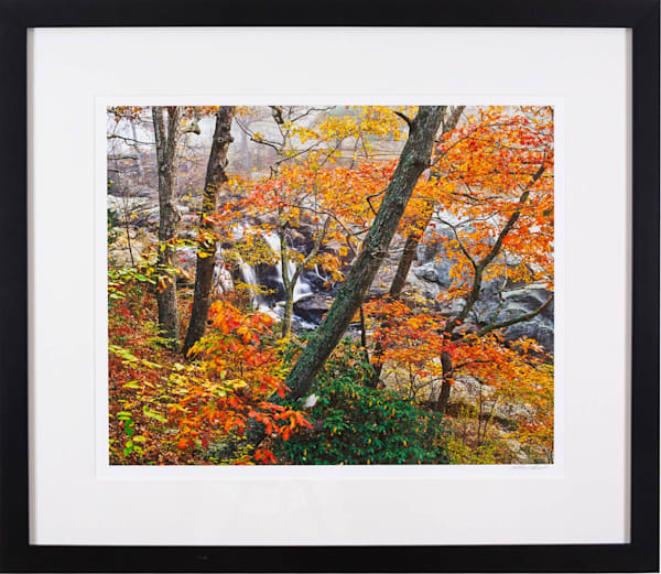 Autumn at Chapman Falls - Guilford Exhibit