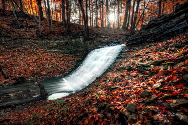 Washboard Falls Photography Art | Trevor Pottelberg Photography