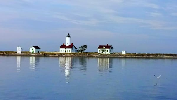New Dungeness Lighthouse by Alexis King-Glandon an American photographer.