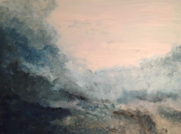 Misty Morning Sky Art | Marci Brockmann Author, Artist, Podcaster & Educator