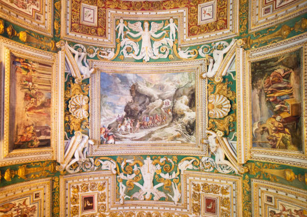 Vatican Ceiling Fresco