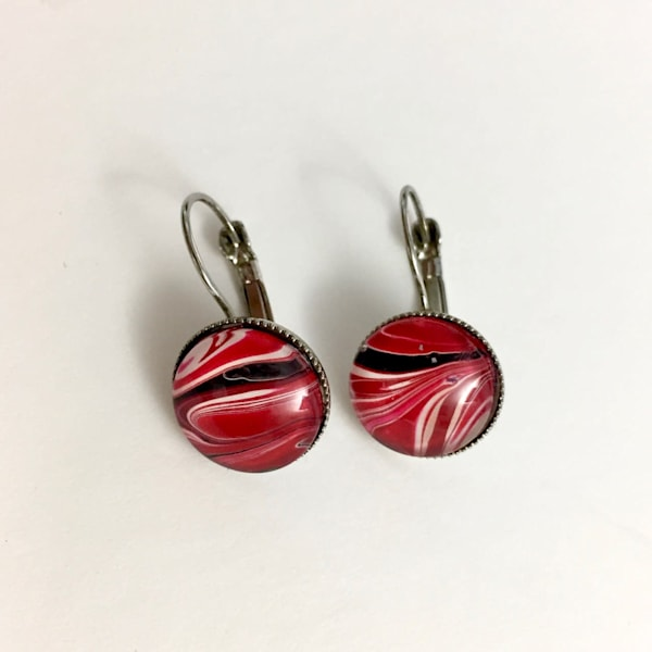 Leverback Earrings, Surgical Steel