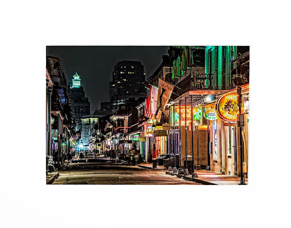Bourbon Street in the Morning photography