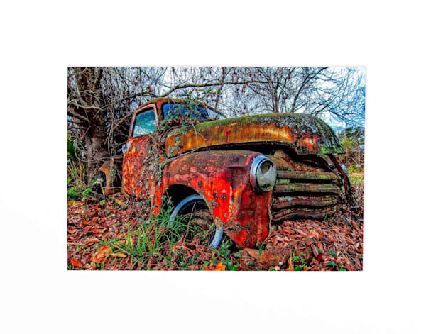 1950 Chevrolet pickup truck photography print