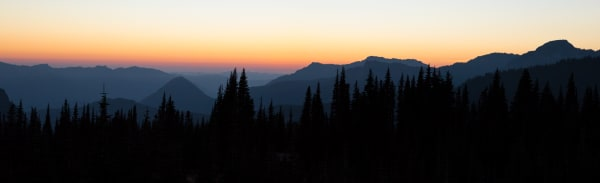 Sunset Panorama, Washington Photography Art | Leiken Photography
