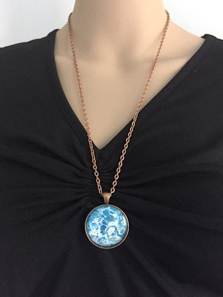 Pendant Necklace, Copper