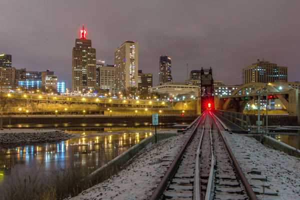 Saint Paul Railroad - Urban Cityscapes | William Drew Photography