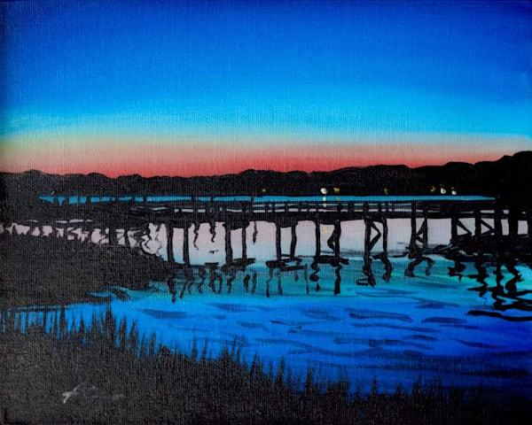 Crab Dock Sunset 3