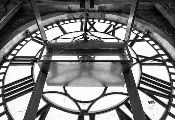 Behind the Time BW - Prints