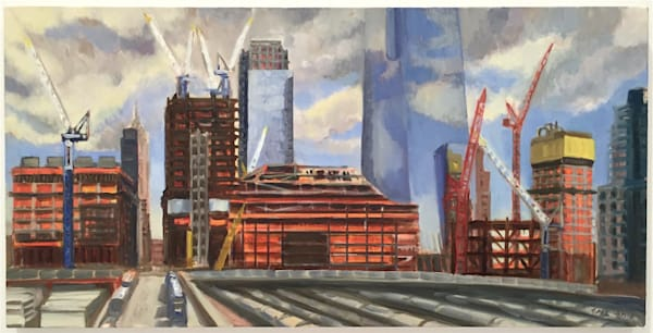 Hudson Yards Rising August 2016 - SOLD