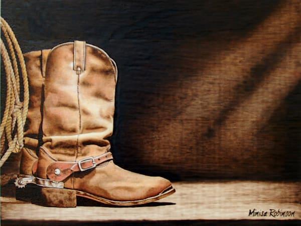 Rugged- (Boots Original Woodburning)
