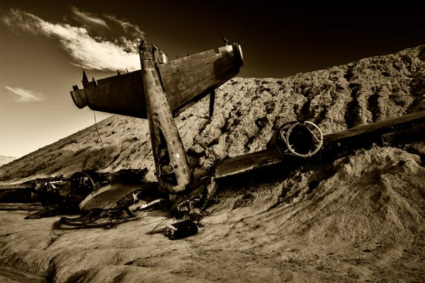 Plane Wreck Nelson Nevada | Fine Art Photograph