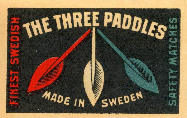 Three Paddles