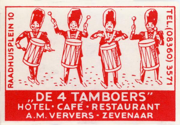 De 4 Tamboers