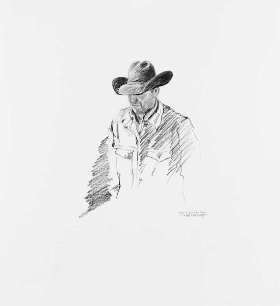 The Art of Raymond Wattenhofer Graphite Drawing Afoot